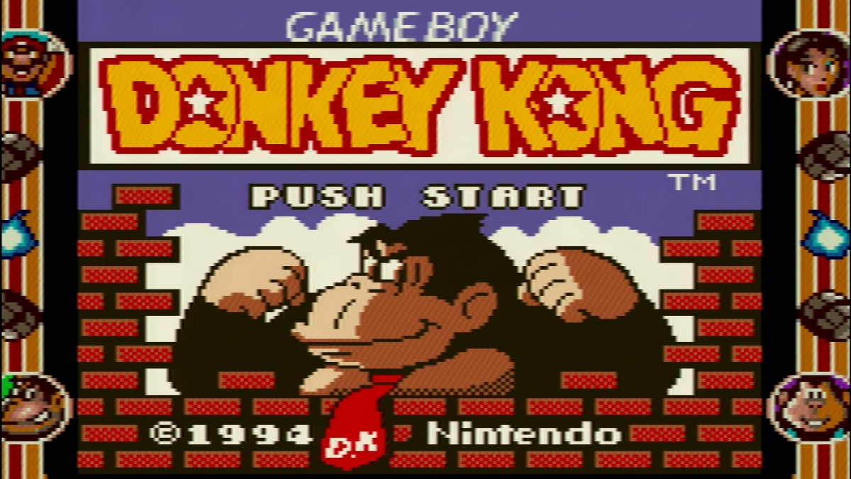 GB - #4 - Donkey Kong