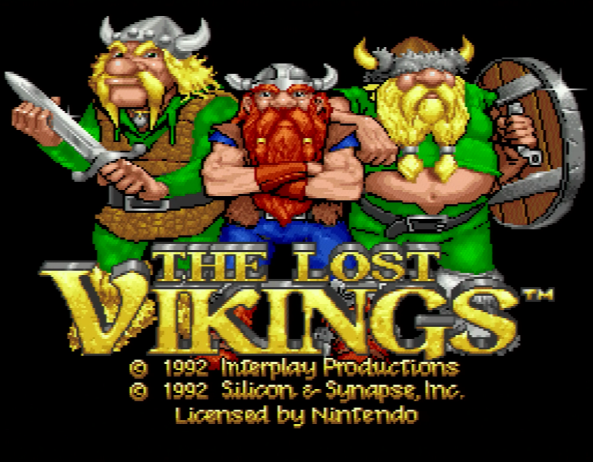 Lost Vikings - 1 Screenshot 2016-01-21 22-40-40