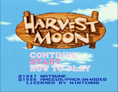 Harvest Moon - 1 Screenshot 2016-02-01 17-04-46